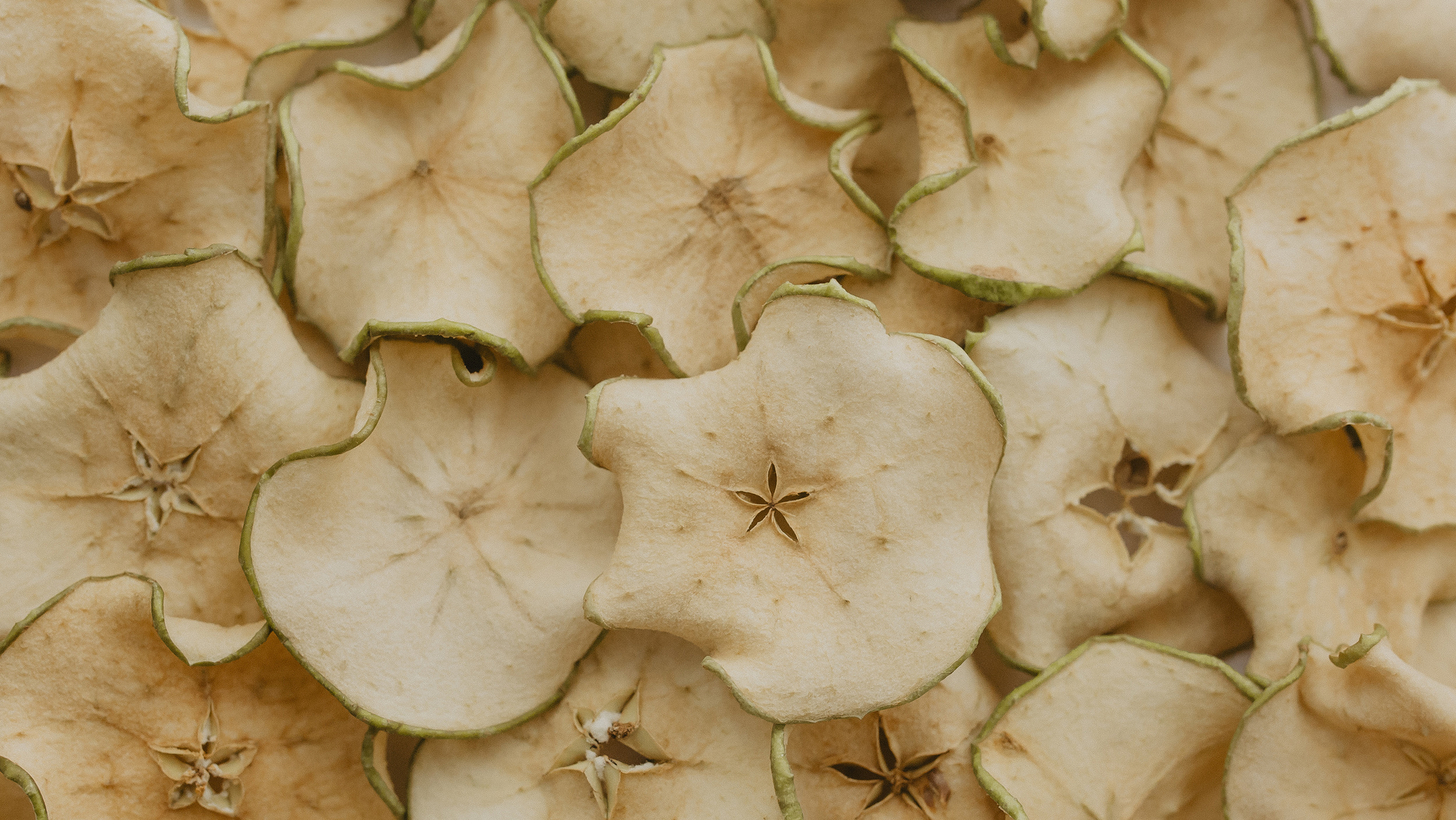 Dehydrated apple