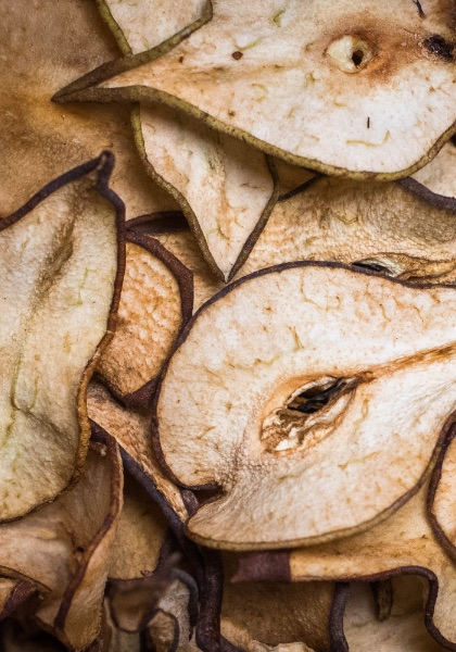 Dehydrated pear