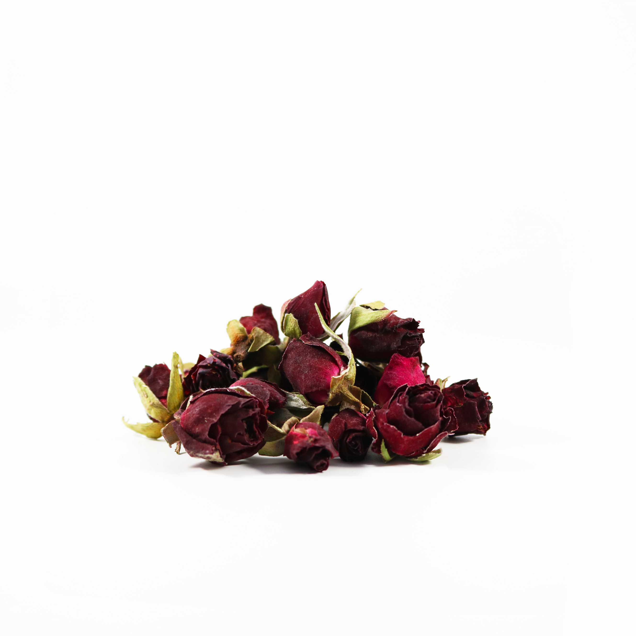 Persian red rose buds